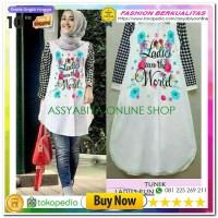 Tunik Ladies World Tunik Muslim Blouse Muslim Wanita