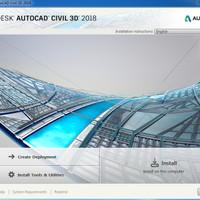 Autodesk AutoCAD Civil 3D 2018 for Windows Original
