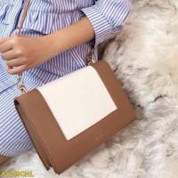 Hand bag Charles Kei*t Tas 901 dua tali warna coklat
