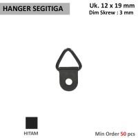 Hanger segitiga kecil untuk frame gantungan dinding lainnya