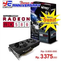 [PROMO] SAPPHIRE NITRO+ RADEON RX 580 8GB - 8GB|GDDR5|256-Bit