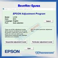 Resetter / Reseter / Reset Printer Epson L1110 / L 1110