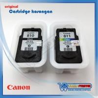 Cartridge Canon PG810 CL811 Kosongan / Second / Bekas Sepasang
