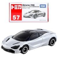 Tomica Reguler 57 McLaren 720S White Miniatur Mclaren 720S