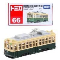 Tomica Reguler 66 Hiroshima Electric Railway Type 650 miniatur kereta