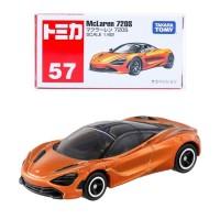 Tomica Reguler 57 McLaren 720S Orange Miniatur Mobil Mclaren 720S