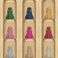maxi nurlela kids (hv) / baju anak muslim / gamis / syari