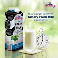Susu Cimory Fresh Milk Full Cream 1L (Isi 6 Pcs)