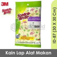 3M Scotch Brite Lap Pembersih Alat Makan Microfiber Lap Tangan ID-87