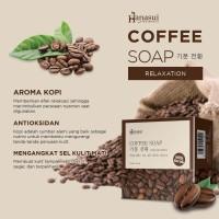 [ COFFEE ] HANASUI COFFEE SOAP WITH SCRUB 60GR - SABUN KOPI HANASUI
