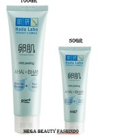 lxh-74 Hada Labo Tamagohada Ultimate Mild Peeling Face Wash Make Up