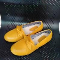 sepatu teplek/sepatu kulit asli/sepatu wanita