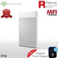 Seagate Backup Plus Ultra Touch Hardisk Eksternal 2TB USB3.0 + Pouch