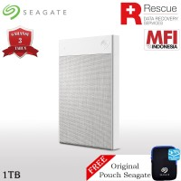 Seagate Backup Plus Ultra Touch Hardisk Eksternal 1TB USB3.0 + Pouch