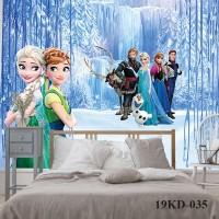 Wallpaper Custom Motif Princess Frozen