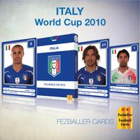 Kartu Bola Fezballer Cards edisi timnas ITALIA - ITALY World Cup 2010