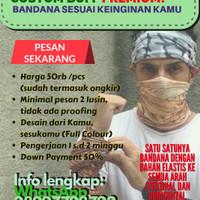 Custom Bandana Sesuai Keinginan Anda (CK Bandana)