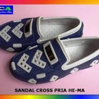 Sepatu Karet Casual Pria - Hema