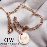 Aksesoris Wanita Merk Daniel Wellington Original Free Box Kalung