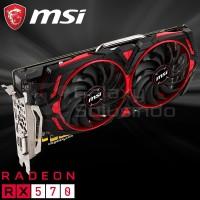 VGA MSI ARMOR MK2 Radeon RX 570 8GB GDDR5 OC