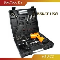 Harga yang termurah cordless screwdriver drill 45 in 1 obeng bor listrik   antitipu.com