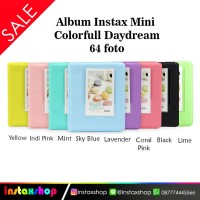 Album Instax Colorfull isi 64 foto / Album Foto