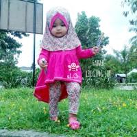 Setelan Anak yang Imut - Baju Muslim Anak Terpopuler Size 3-4 Tahun