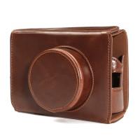 Terbaru Camera Leather Bag Cover Case Bottom Opening for Fujifilm