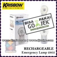 KRISBOW LAMP EMERGENCY 2805 LAMPU KIPAS ANGIN DARURAT JUMBO
