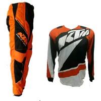Promo Murah Jersey Celana Setelan Trail Cross Mx Racing Orang KTM