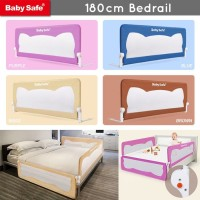 Baby Safe Bedrail 180cm Pengaman Ranjang Anak Pembatas Kasur Bayi