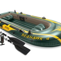 Perahu Karet Seahawk 4 Inflatable Boat Sport Series - INTEX 68351