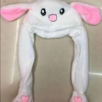 bunny hat, dancing bunny