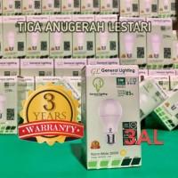 5W, Lampu Bulb Bohlam LED GENERAL LIGHTING 5 WATT, Bergaransi 3 tahun