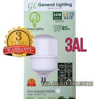 30W, Lampu Bohlam High Power LED Bulb GENERAL LIGHTING 30 WATT- GUDANG