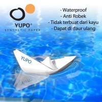 Yupo Blue 150 YPI - A4 Kertas Anti Air, Anti Robek Waterproof