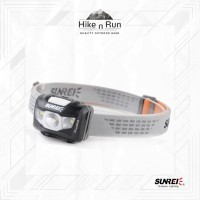 Sunrei Headlamp / Lampu Kepala Youdo 2S (Black) 190 LUMENS