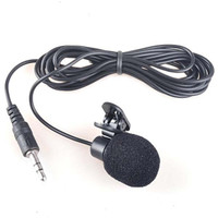 Clip On Microphone Eksternal Mic Kabel + Clip for Hp Laptop Handphone