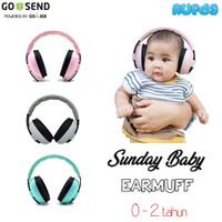 Sunday Baby Earmuff Penutup Telinga Pelindung Pendengaran Bayi