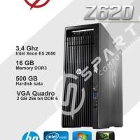 CPU Workstation Hp Z620 intel xeon e5 2620 ram 16 gb ddr3 hdd 500gb