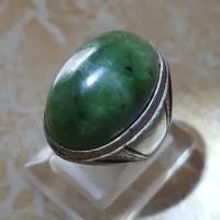 Giok Hijau Aceh - Cincin Batu Akik