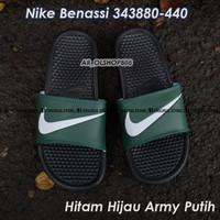 Sandal Nike Benassi ORIGINAL Sendal Nike Hitam ORIGINAL Nike Benassi 1