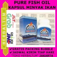 Kapsul Minyak Ikan PDO (Pure Fish Oil)