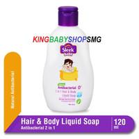 Sleek Baby 2 in 1 Hair & Body Liquid Soap 120ml