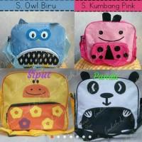 Tas slempang karakter hewan anak/Ngaji/souvenir ulang tahun/grosir cv