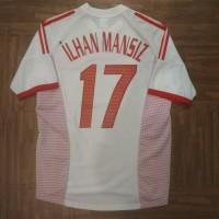 52d1802ba66 Jersey Turkey World Cup 2002 away size M ILHAN MANSIZ original