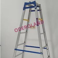 Tangga Lipat Aluminium uk 2 m / tangga murah bagus berkualitas