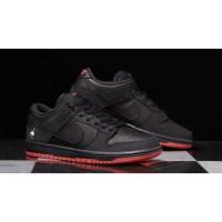 Sepatu NIKE SB DUNK LOW TRD QS BLACK PIGEON/HITAM Premium SEJB