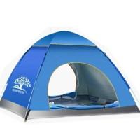 Tenda Camping Outdoor Pantai Dewasa Otomatis 3-4 Orang Waterproof 002