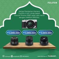 Fujifilm X-A3 XC 16-50mm PWP Fujinon XF 23mm F2 Silver
